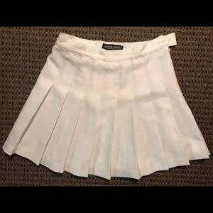 American Apparel game day skirt